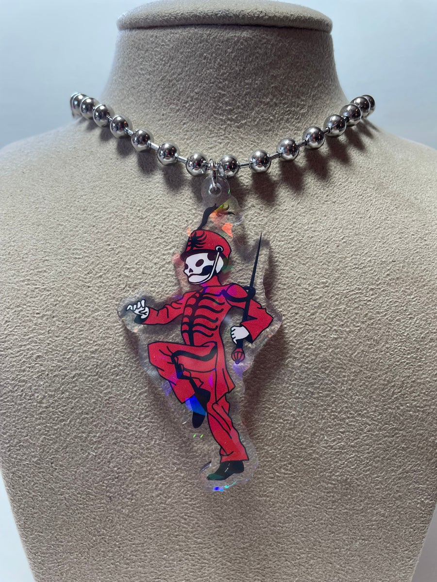 Image of Pepe Ball Chain Necklace