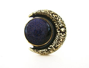 Image of  the Floral Moon Ring
