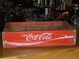 Image of Original Coca Cola Crates