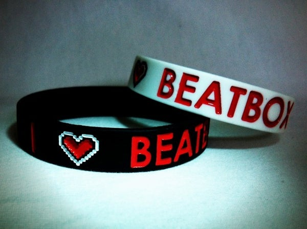Image of I Love BEATBOX Wristbands 1/2""
