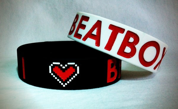 Image of I Love BEATBOX Wristbands 3/4""