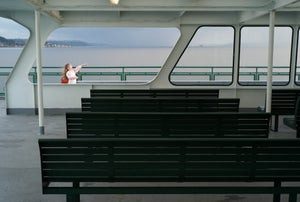 Image of Girl on a Ferry