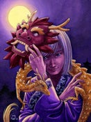 "Image of Original Painting ""Year of the Dragon"""