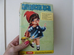Image of caperucita roja colección Heidi