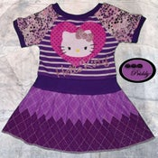 Image of **SOLD OUT** Sparkly Hello Kitty Dress - Size 2/3T