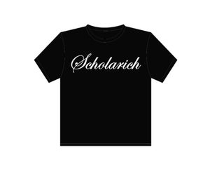 Image of Black and White Scholarich Tee