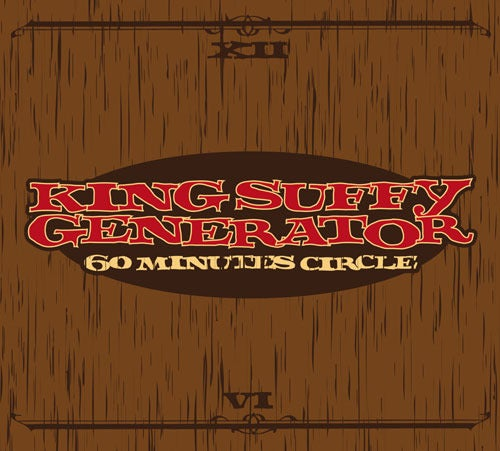 "Image of KING SUFFY GENERATOR ""60 Minutes Circle"" Cd"