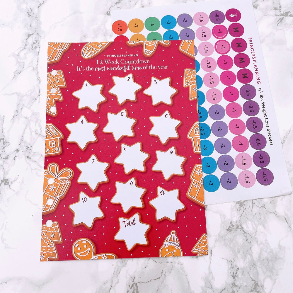 Image of GRANDE PLANNER -12 WEEK COUNTDOWN INSERT IT'S THE MOST WONDERFUL TIME OF THE YEAR