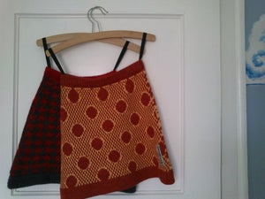 Image of Retro Granny Skirt
