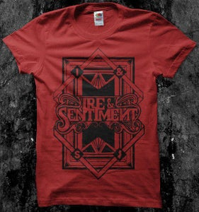 "Image of Ire & Sentiment - ""Large Print 2012"" Tee"