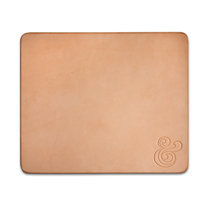 Image of PREMIUM LEATHER MOUSEPAD<br/>(NATURAL)
