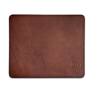 Image of PREMIUM LEATHER MOUSEPAD<br/>(BROWN)
