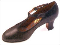 Image of Capezio Professional TStrap Character/Ballroom Shoes