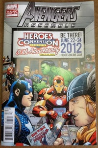 Image of AVENGERS ASSEMBLE #1 HEROES VARIANT
