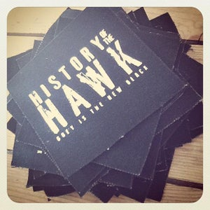 Image of History of the Hawk Hand Screened Patches
