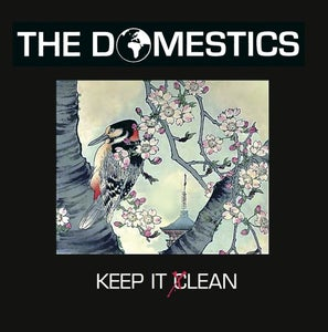 Image of THE DOMESTICS - 'KEEP IT LEAN' 14 TRACK CD ALBUM (previews at www.thedomestics.bandcamp.com)