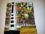 Image of Customized KOBE BLK MAMBA G34 SWG SOX  Almost Sold Out!