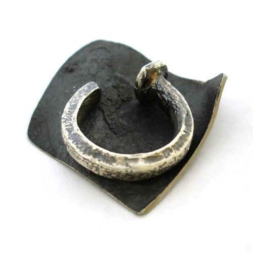 Image of Silver Nail Ring