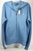Image of Polo Ralph Lauren Full-Zip Hoodie Blue