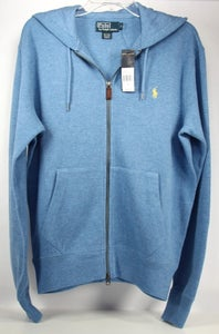 Image of Polo Ralph Lauren Full-Zip Hoodie Blue