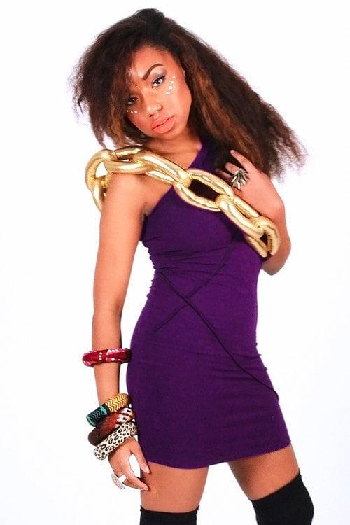 Image of Jumbo chain dress