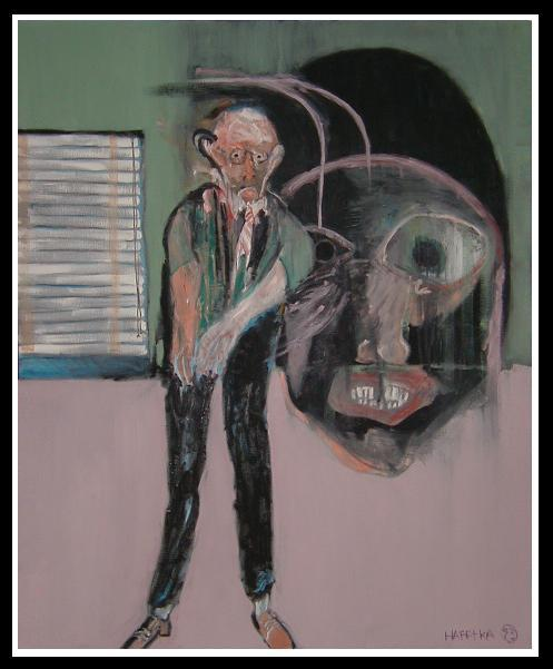 Image of Modern Expressionist Oil Painting by Michael Hafftka - Meltzer Meltzer & Meltzer