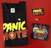 "Image of Pack T-Shirt + CD ""Vacancy 4 Ever"" + Badge + Sticker"