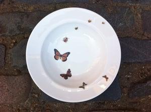 Image of Ladybird Butterfly Flutterby