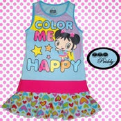Image of **SOLD OUT** Ni Hao Kai-Lan Dress - Size 2/3T