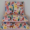 Retro Zoo Animals Cushion