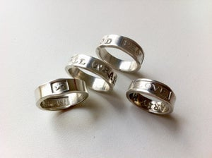 Image of Love Peace Cherish Rings