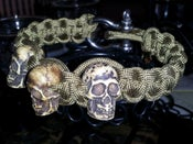 Image of Skull Survival Bracelet (Limited Supply)