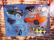 Image of Vintage/Classic Cars Tea Towel