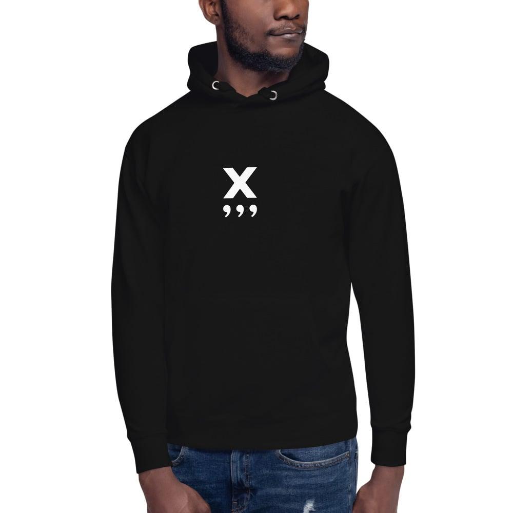 Image of X Unisex Hoodie