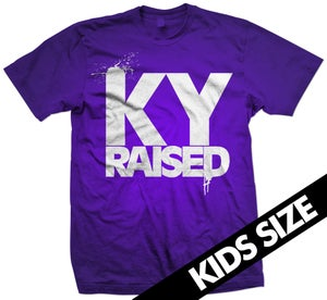 Image of KY Raised Kids in Purple & White