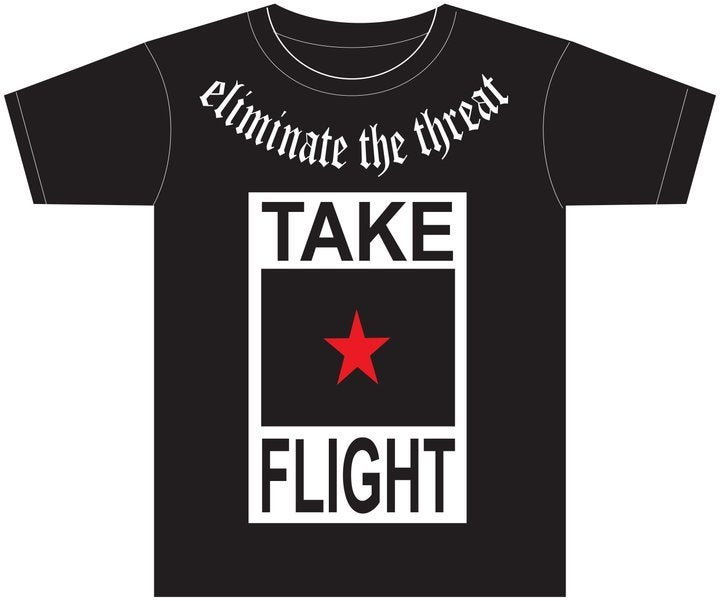 Image of TF Logo Tee (Black)
