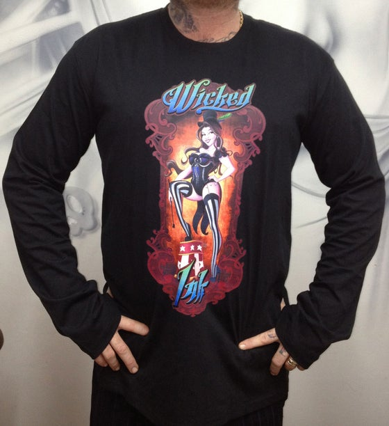 Image of Men's Black Ringmaster L/Sleeve