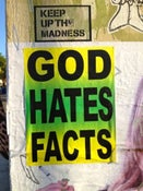 Image of God Hates Facts - Stickers
