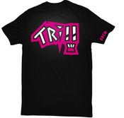 Image of Trill Bear Tee - BLKxPNK