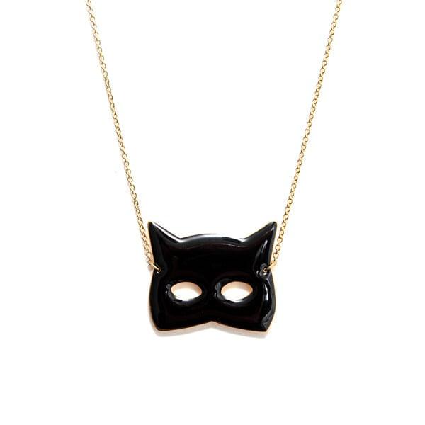 Sautoir Masque chat - Félicie Aussi