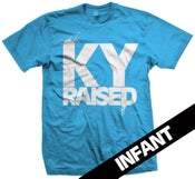 Image of KY Raised Infant in Teal & White