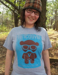 Image of Vancouver Bear Stache T-Shirt