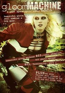 Image of GloomMachine magazine Issue One