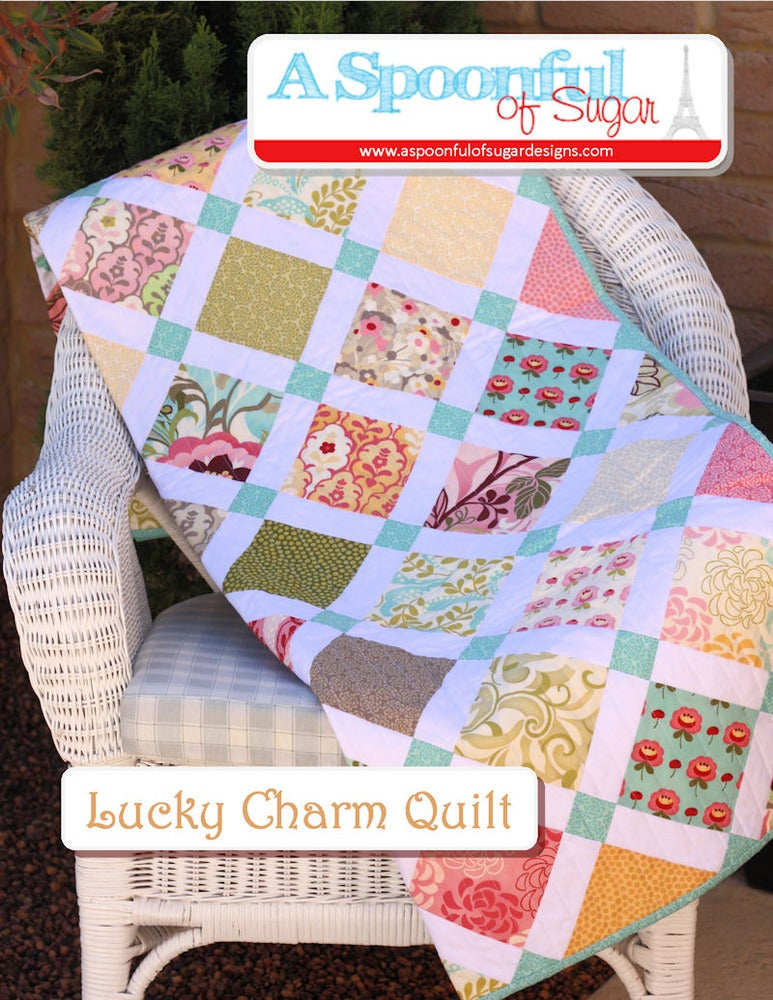 A Spoonful Of Sugar Designs Lucky Charm Pdf Quilt Pattern