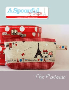 Image of The Parisian Pouch PDF Sewing Pattern