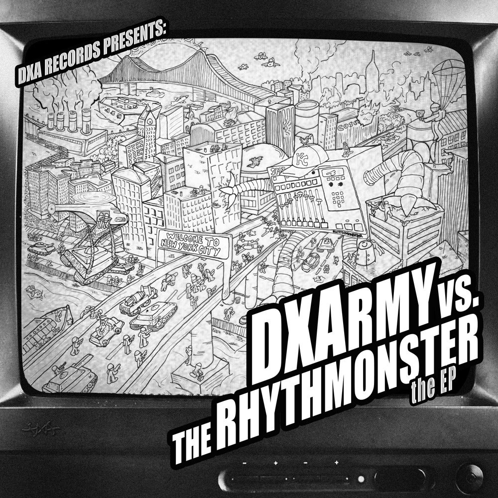 Image of DXA - DXA vs The Rhythmonster EP // 12""