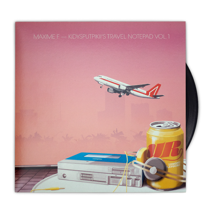 Image of MAXIME F — Kidysputpikii's Travel Notepad Vol. 1 Vinyl