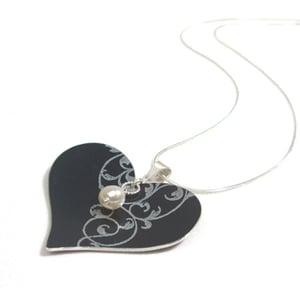 Image of Rococo Heart Necklace