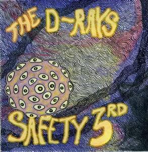 "Image of Safety Third 7"" Record on black vinyl"