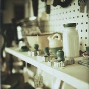Image of vintage green
